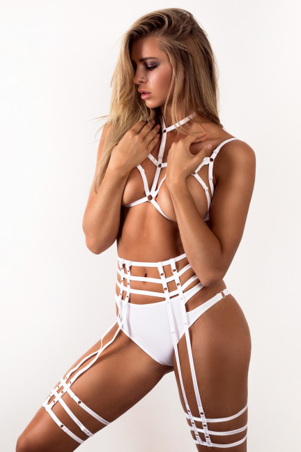 The Perfect White Harness