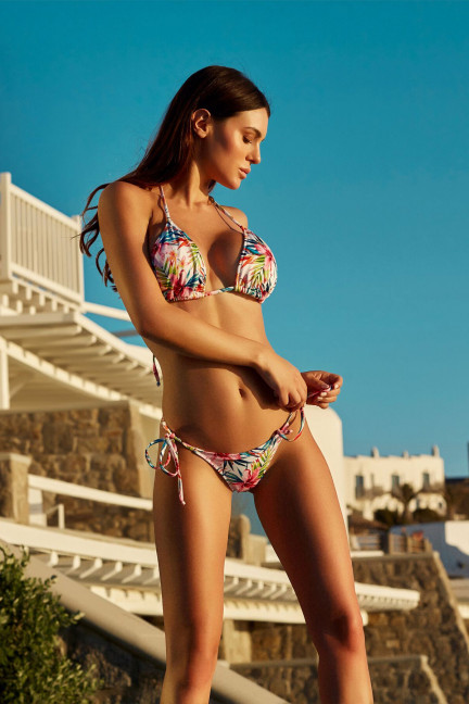 Rainbow Tropical Bikini