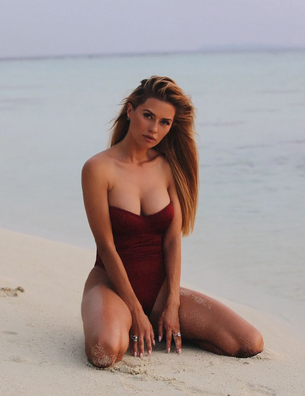 Tigelle - Maldives photoshoot